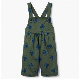 Gymboree 12-18 mo NWOT girls linen overalls
